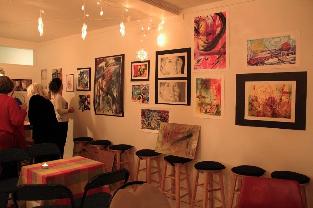 vernissage atelier d'exploration artistique